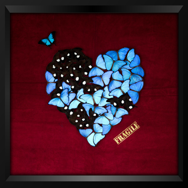 , 'Butterfly Heart (Red),' 2018, Eden Fine Art