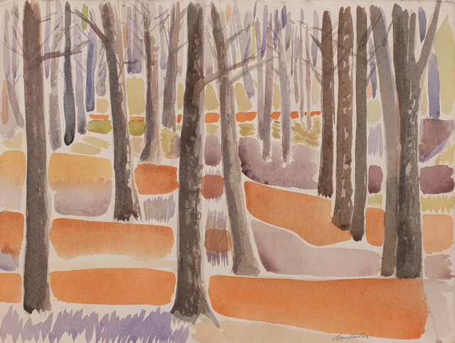, 'Trees in Newlands Forest,' Undated, EBONY/CURATED
