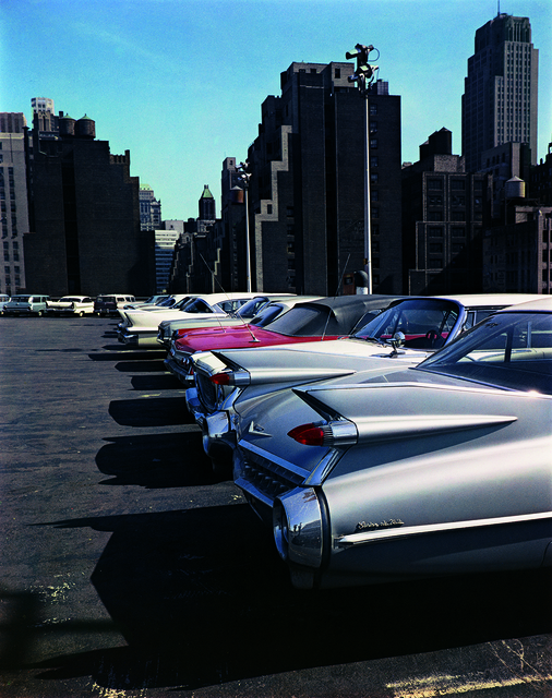 Evelyn Hofer, 'Car Park, New York', 1965, ROSEGALLERY