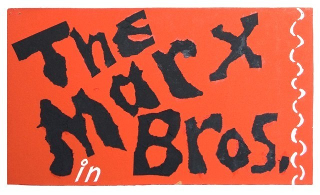 , 'The Marx Bros. in,' , Tibor de Nagy