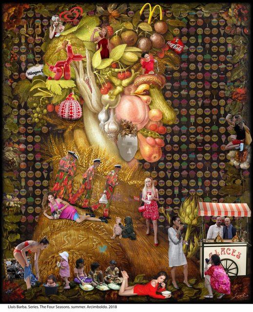 , 'The Four Seasons. Summer. Arcimboldo,' 2018, Galeria Contrast