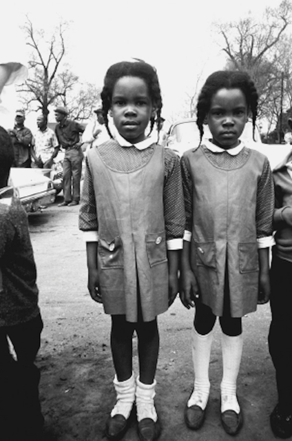 , 'Twins Watching the Selma March,' 1965, Jackson Fine Art