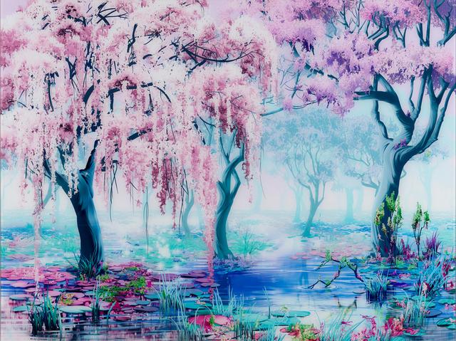 , 'Waterlillys,' 2018, Allouche Gallery