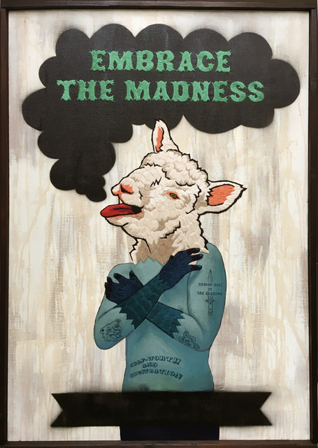 , 'Embrace The Madness,' 2016, CLEAR EDITION & GALLERY