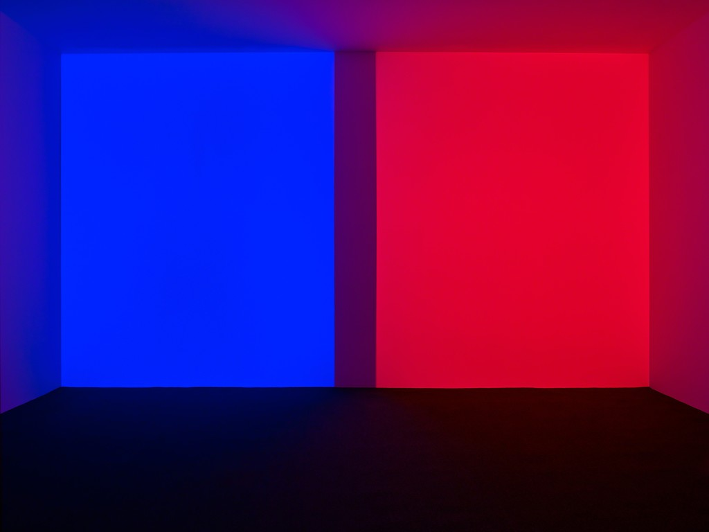 James Turrell, 'Orca, Blue-Red', 1968
