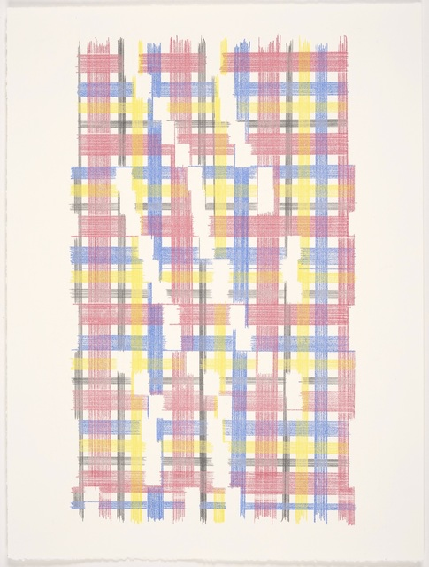 Laura Kaufman, 'A Moment Of Confusion (Plaid)', 2018, MARQUEE PROJECTS