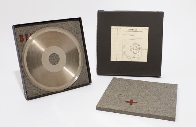 , 'Sun Disc,' 1973, Bergamin & Gomide