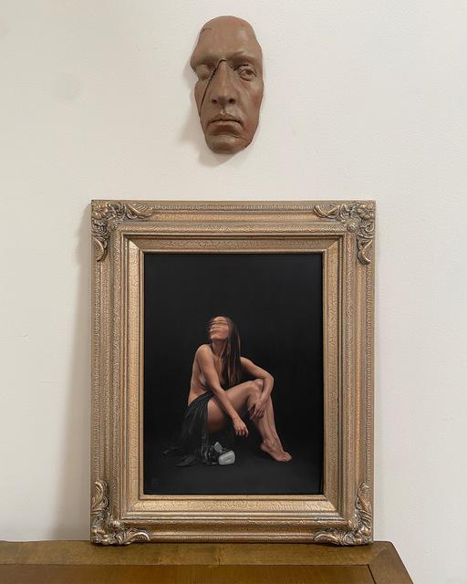 Megan Elizabeth Read, 'Here Still', 2021, Painting, Oil on acm, 33 Contemporary