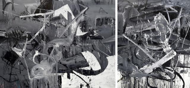 , 'Diptych (Untitled #1519408+#1519608),' 2015, Galerie Kornfeld