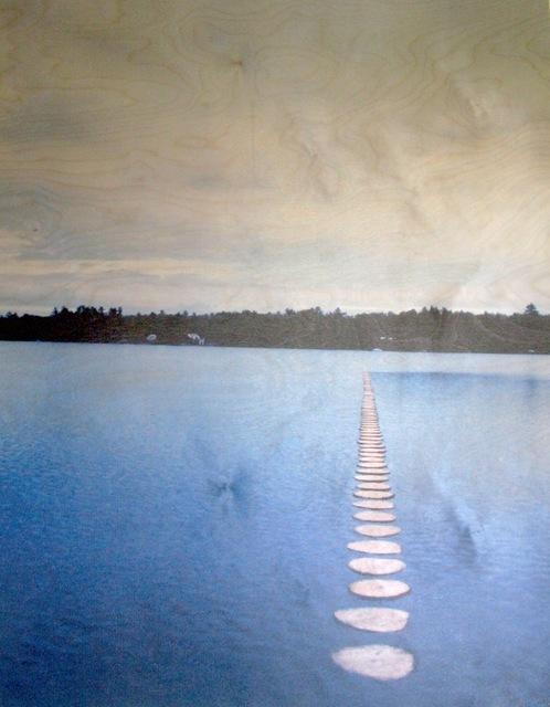 , 'Lake Wesserunsett Log II,' , Nitra Gallery