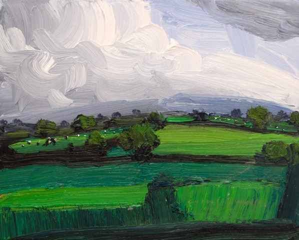 Robert Newton, 'Spring Green', 2018, Lime Tree Gallery