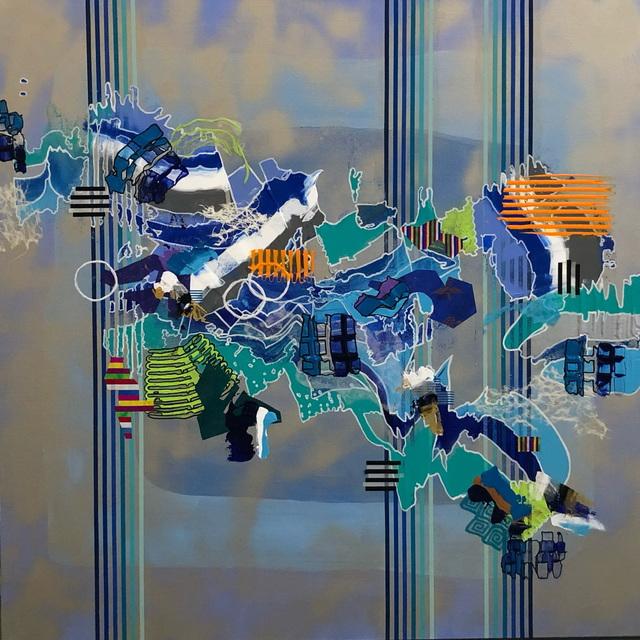 , 'Blue Displacement,' 2019, Ro2 Art