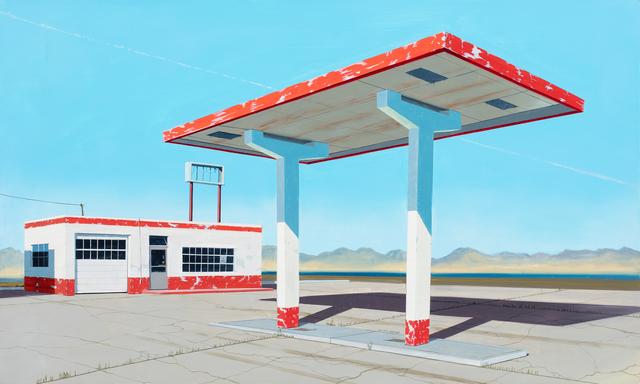 , 'A Desert Gas Station,' 2019, Russo Lee Gallery