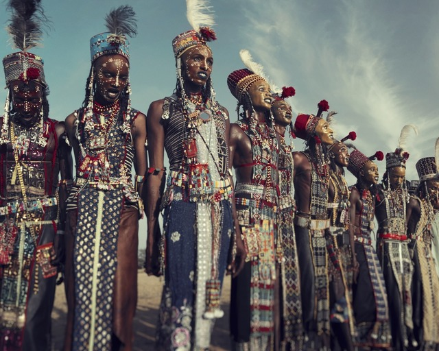, 'XXVIII 1 Wodaabe, Gerewol,  Chad 2016 ,' 2016, Willas Contemporary