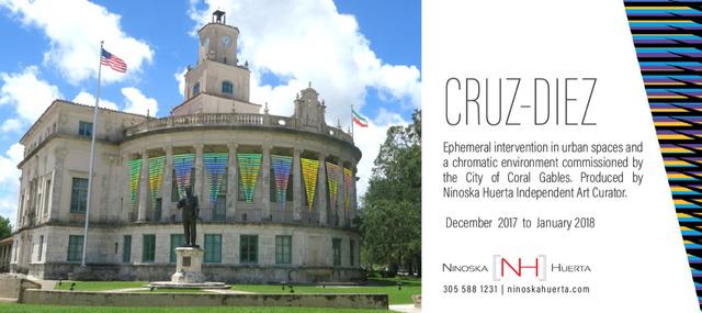 , 'Ephemeral Instalation by Carlos Cruz-Diez,' 2017, Ninoska Huerta Gallery