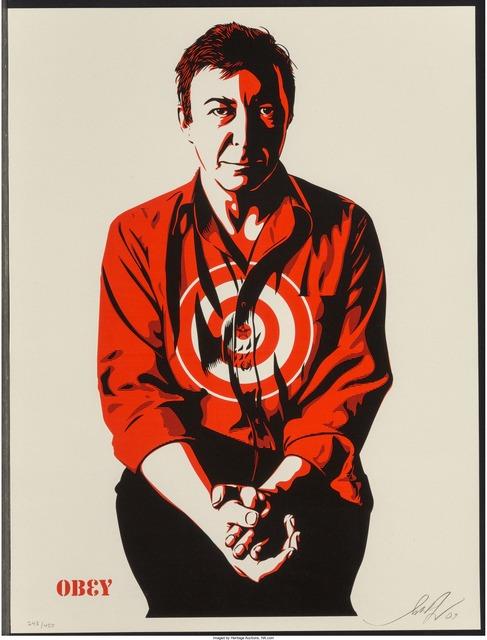 Shepard Fairey (OBEY), 'Jasper Johns Cream', 2009, Heritage Auctions
