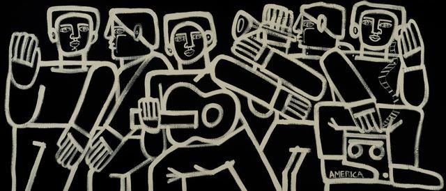 , 'Sidewalk Musicians,' , Joanne Artman Gallery