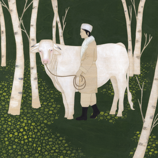, 'Fool and the Birch Tree,' 2013, Adah Rose Gallery