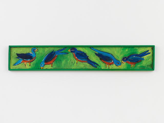 , 'Birds,' 1985, Johannes Vogt Gallery