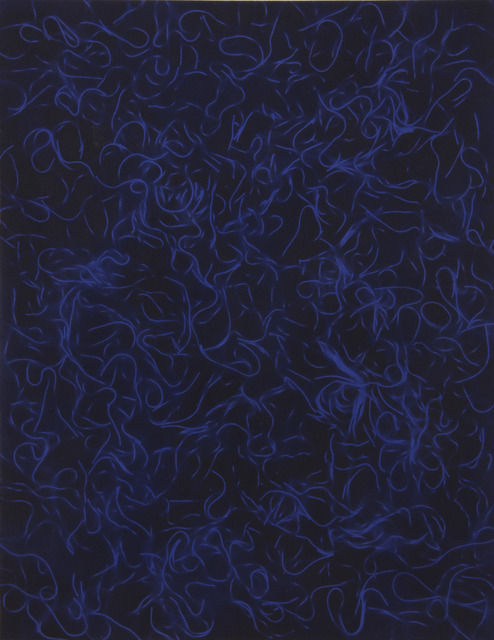 , 'Untitled (Dark Blue Cooked Pasta),' 2012, Kavi Gupta