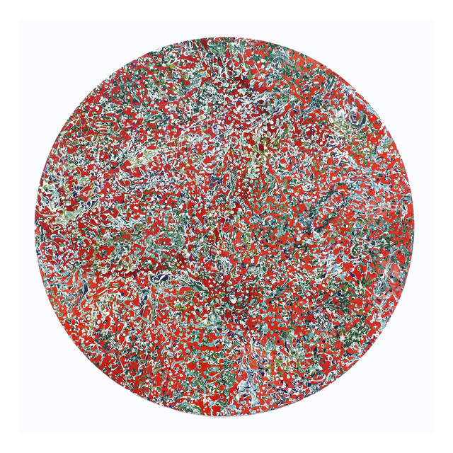 Ien Lucas, '01.03.2018', 2018, Painting, Acrylic on Canvas, Priveekollektie Contemporary Art | Design
