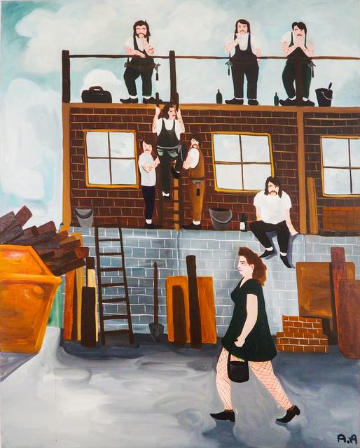 , 'Home builders,' 2018, Kristin Hjellegjerde Gallery
