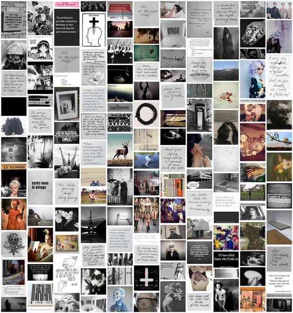 , 'Pour Sophie (Tumblrwork 3),' 2013, PRISKA PASQUER