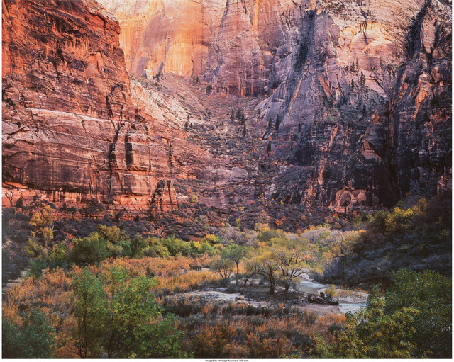 Christopher Burkett, 'Twilight, Virgin River and Zion Canyon, Utah', 1987, Heritage Auctions