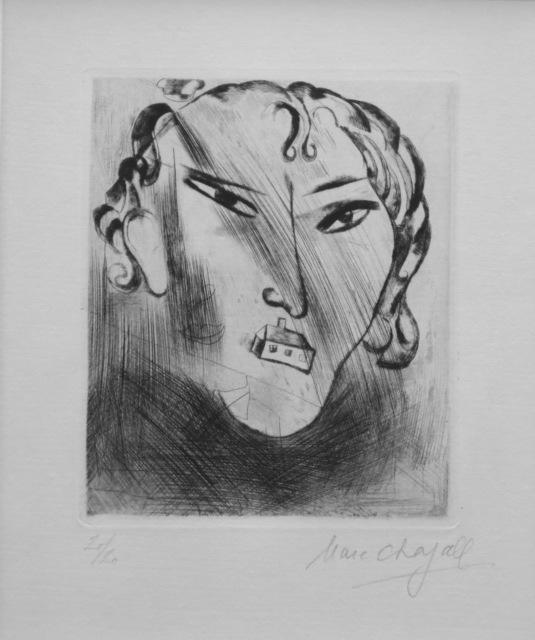 , 'Selbstbildnis mit Haus im Gesicht,' , Isselbacher Gallery