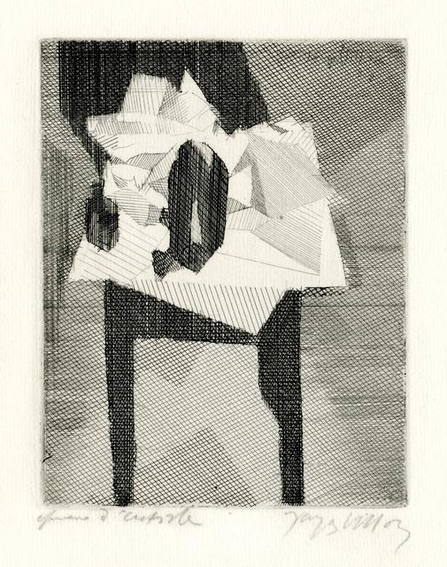 , 'La Table Au Tampon Noir,' 1928, Keith Sheridan, LLC