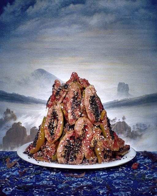 , 'Papaya Mountain,' 2016, Slag Gallery