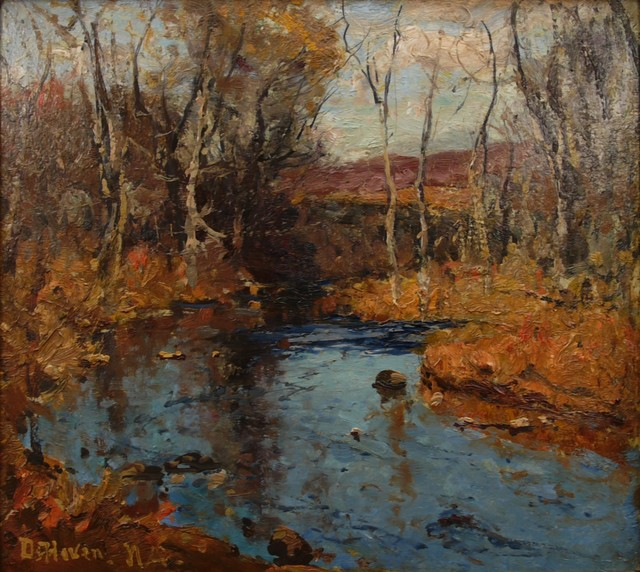 Franklin De Haven, 'November', ca. 1920, Private Collection, NY