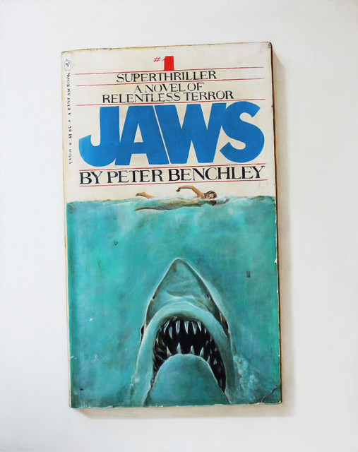 , 'Jaws Paperback,' 2016, Clark Gallery