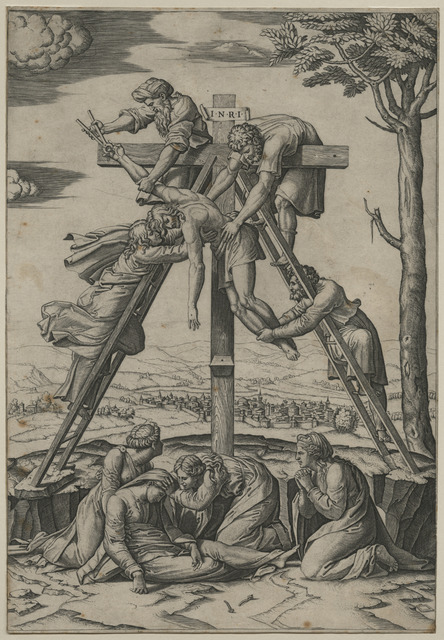 , 'Descent from the Cross [after Raphael Sanzio (1483-1520)],' ca. 1520, Childs Gallery