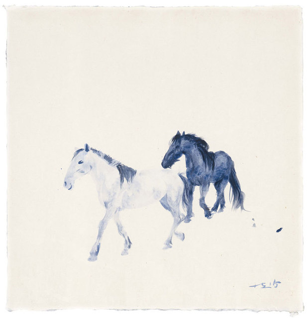 , 'Blue 03,' 2015, Faurschou Foundation