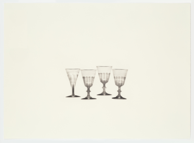 , 'Fox Talbot's Articles of Glass (four glasses),' 2016, Alan Cristea Gallery