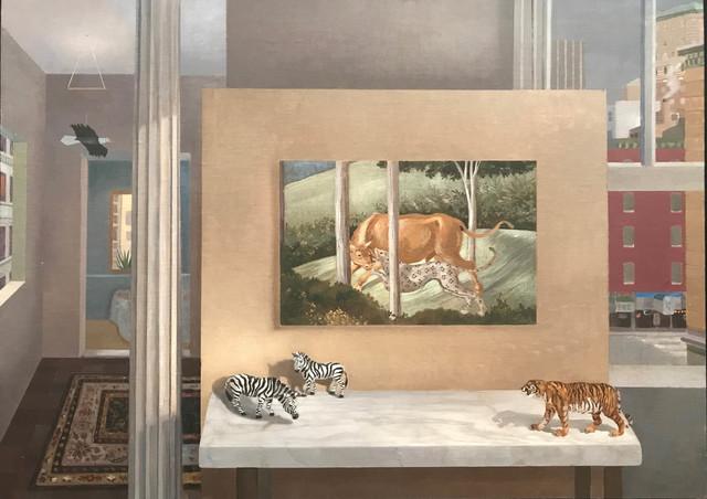, 'The Hunt, Gozzoli,' 2013, Cavalier Galleries