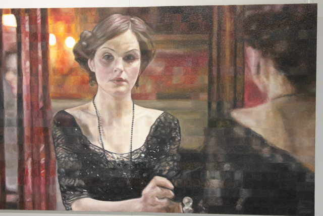 , 'Lady Mary, Downton Abbey,' 2017, The Front Gallery