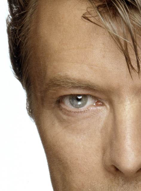 , 'David Bowie Eyes (left half),' ca. 1970, Mouche Gallery