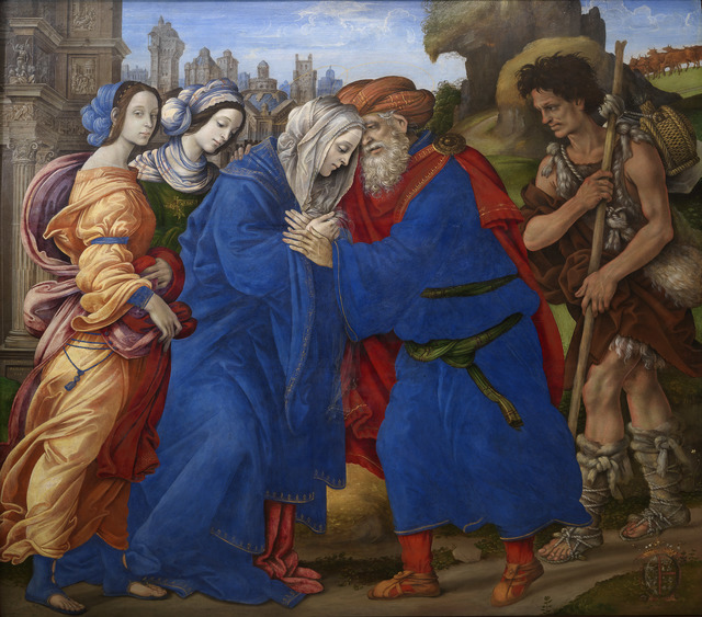 , 'The Meeting of Joachim and Anne outside the Golden Gate of Jerusalem ,' 1497, Statens Museum for Kunst