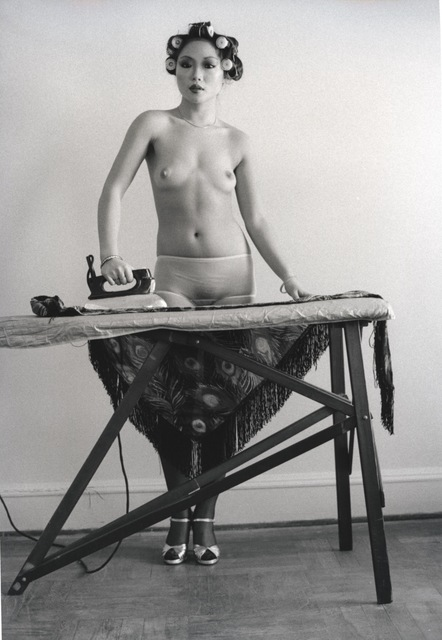 , 'Eddie Suns's friend ironing, NY,' 1972, Les Douches La Galerie