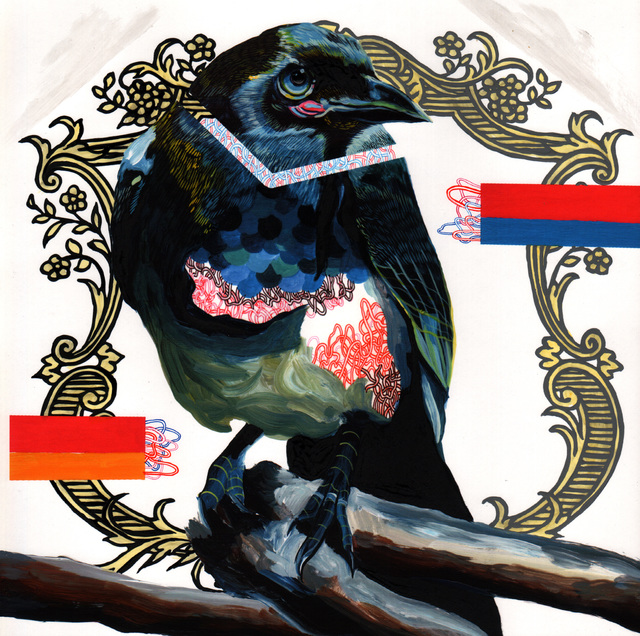 , 'Endangered Bird #121a,' 2015, Jenn Singer Gallery