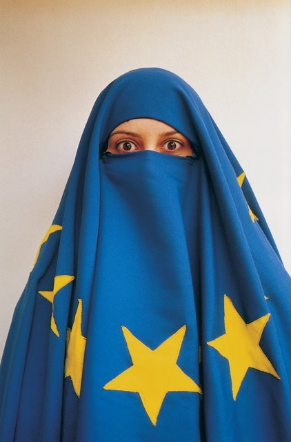 , 'Untitled (Girl with EU Flag),' 2004, PILOT
