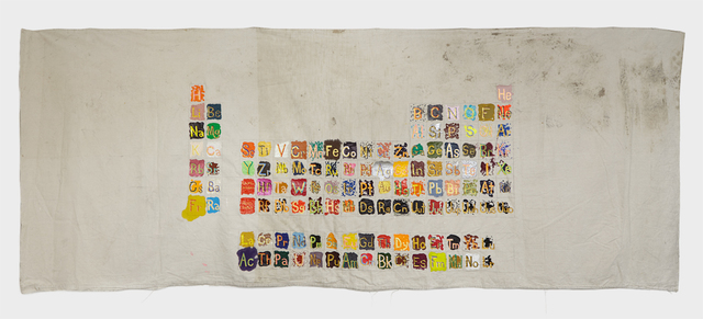 , 'Periodic Table of Elements,' 2008, Klowden Mann