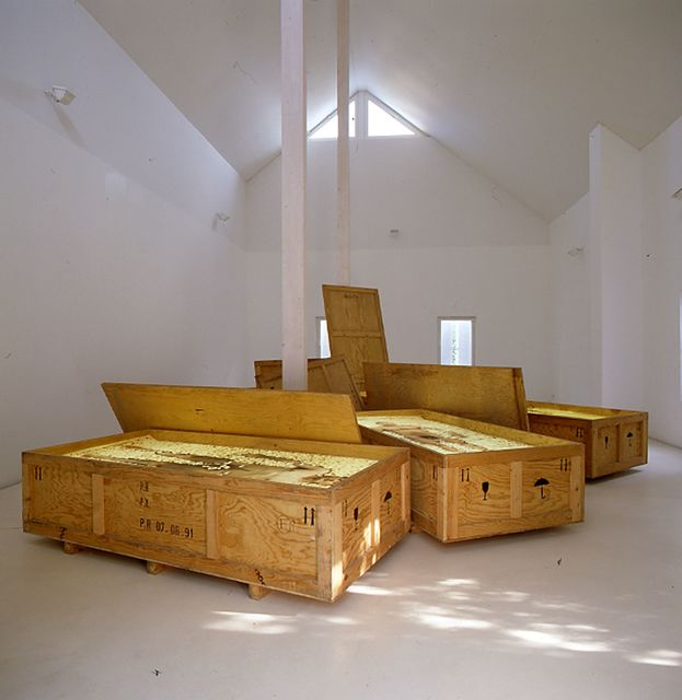 , 'Passagers Clandestins/Blinde Passagiere (Hommage à Caspar David Friedrich) ,' 1991, Brigitte March International Contemporary Art
