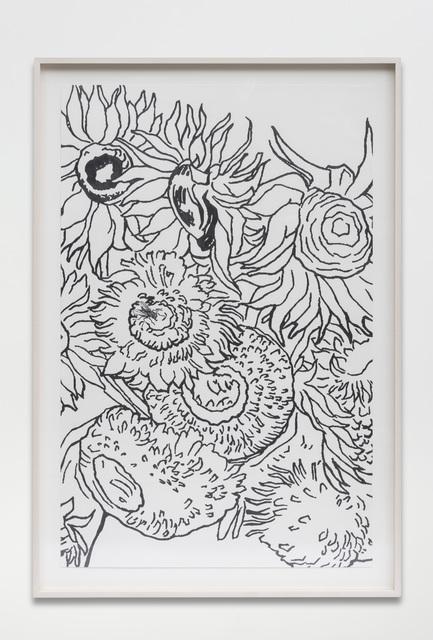 , 'Bouquet (For Vincent),' 2017, PRAZ-DELAVALLADE