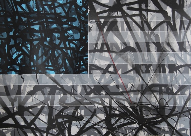 Saber, 'Blue Flag', 2013, Blackline Gallery