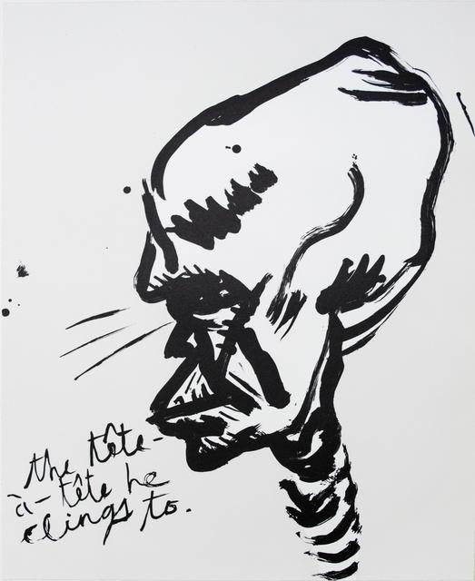 , 'Untitled (The Tête a Tête...),' 2018, Brooke Alexander, Inc.