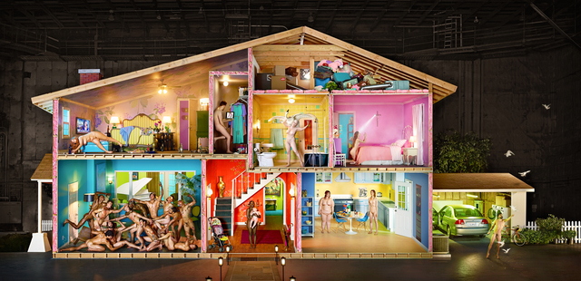, 'Self-Portrait as House, Los Angeles,' 2013, Staley-Wise Gallery