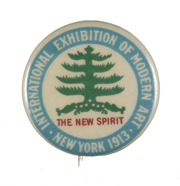 , 'Button from the Walt Kuhn papers, 1913,' , Smithsonian Archives of American Art